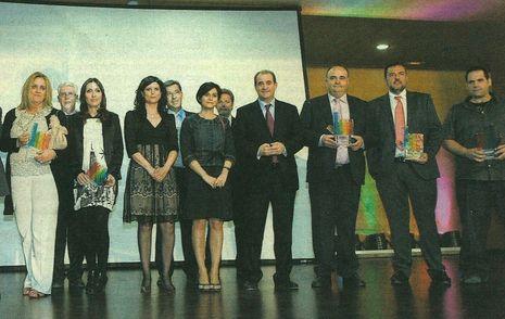 """2011. Primer premio Mejor Web Institucional del diario """"La Verdad"""" de Albacete."""
