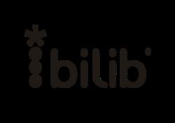 logo bilib con slogan tono negro