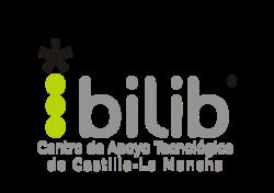 logo bilib color  gris y verde