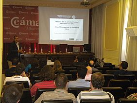 Imagen Jornada ponente CESLCAM