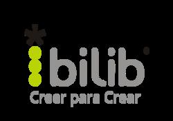 logo bilib gris y verde