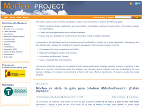 Web Morfeo Project