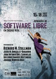 Cartel Jornadas Software Libre Ciudad Real