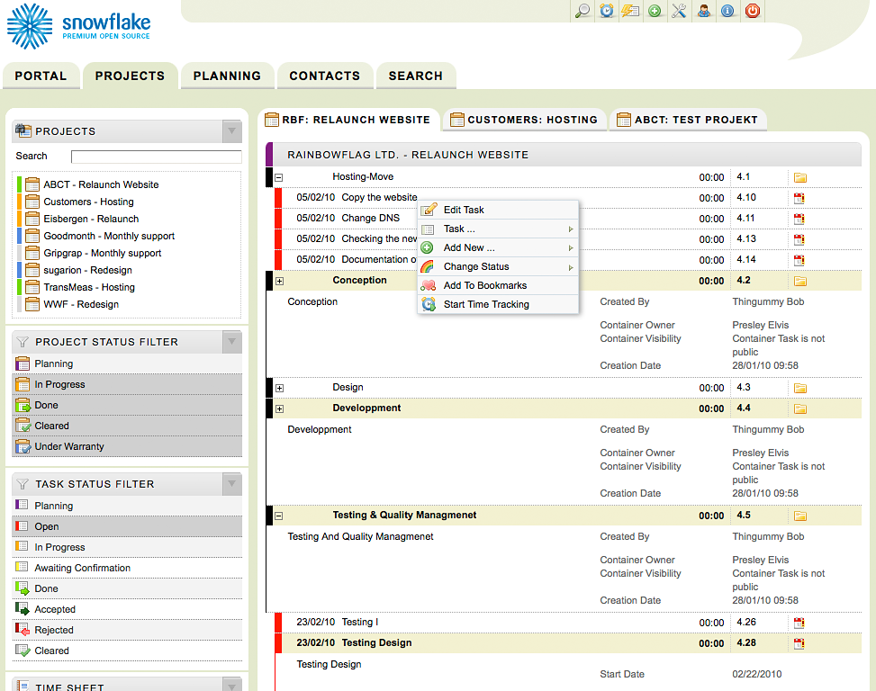 top web based project management software